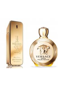 2'li Parfüm Set: Paco Rabbane 1 Million İntense+Versace Eros Pour Femme